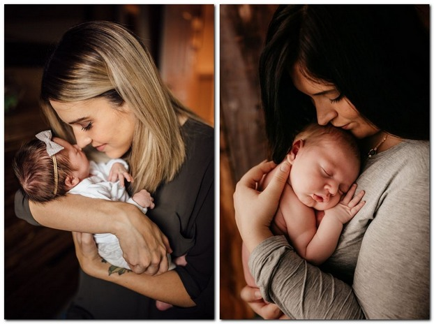 Фотосессия новорожденного