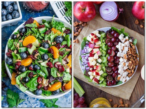 Как сфотографировать салат