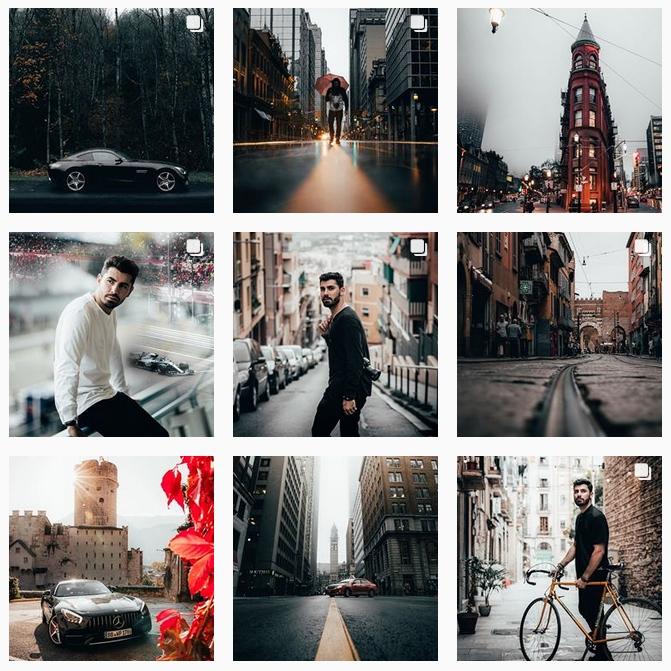 Инстаграм фотографы