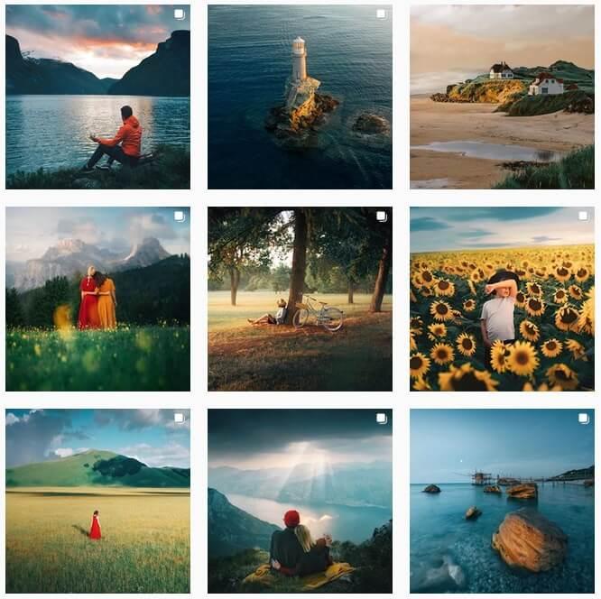 Популярный фотограф в Инстаграм