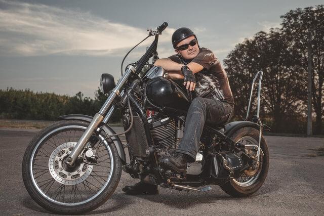 Миргородский байкер