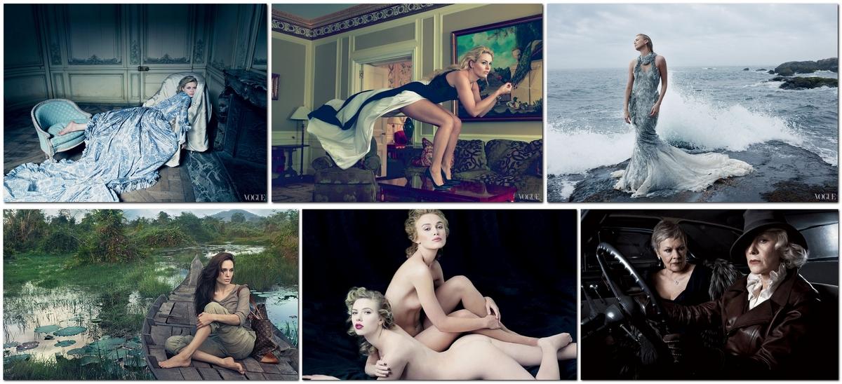 Популярные фотографы: Энни Лейбовиц