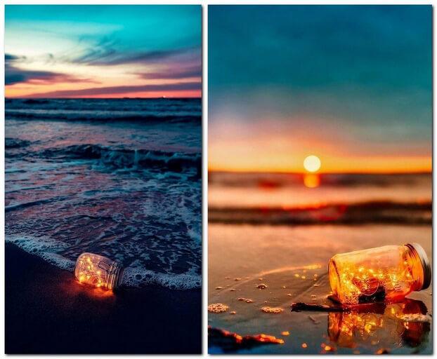Идеи для фото на море на закате
