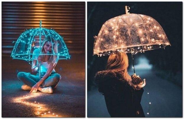 Необычные идеи для фото девушки