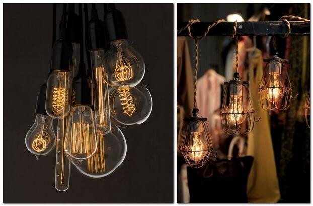 Красивые лампочки