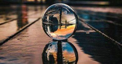 как сфотографировать шар