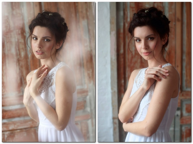 Портреты со светом от окна