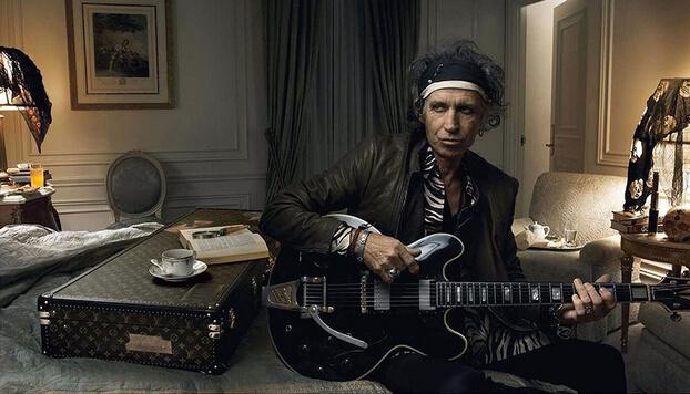 """Фотограф Энни Лейбовиц, участник группы """"The Rolling Stones"""""""