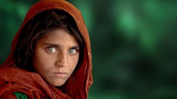 Фотограф Стив МакКарри, афганская девочка
