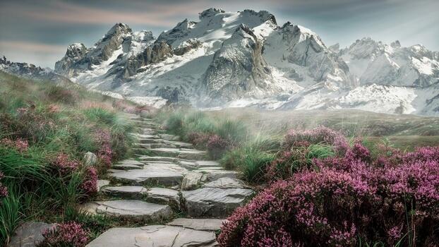 Горы красивые фото