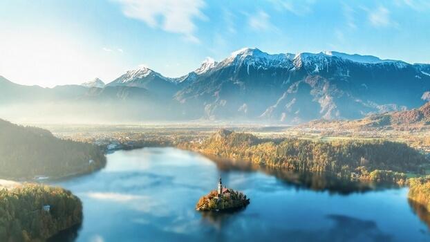Горы красивое фото