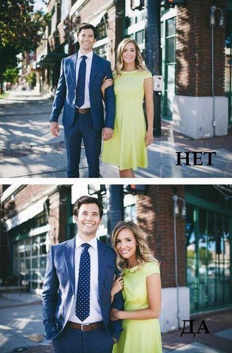Позы для фотосессии пары